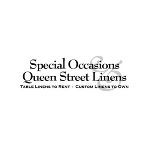 Special Occasions Queen Street Linens - Table Linens to Rent, Custom Linens to Own