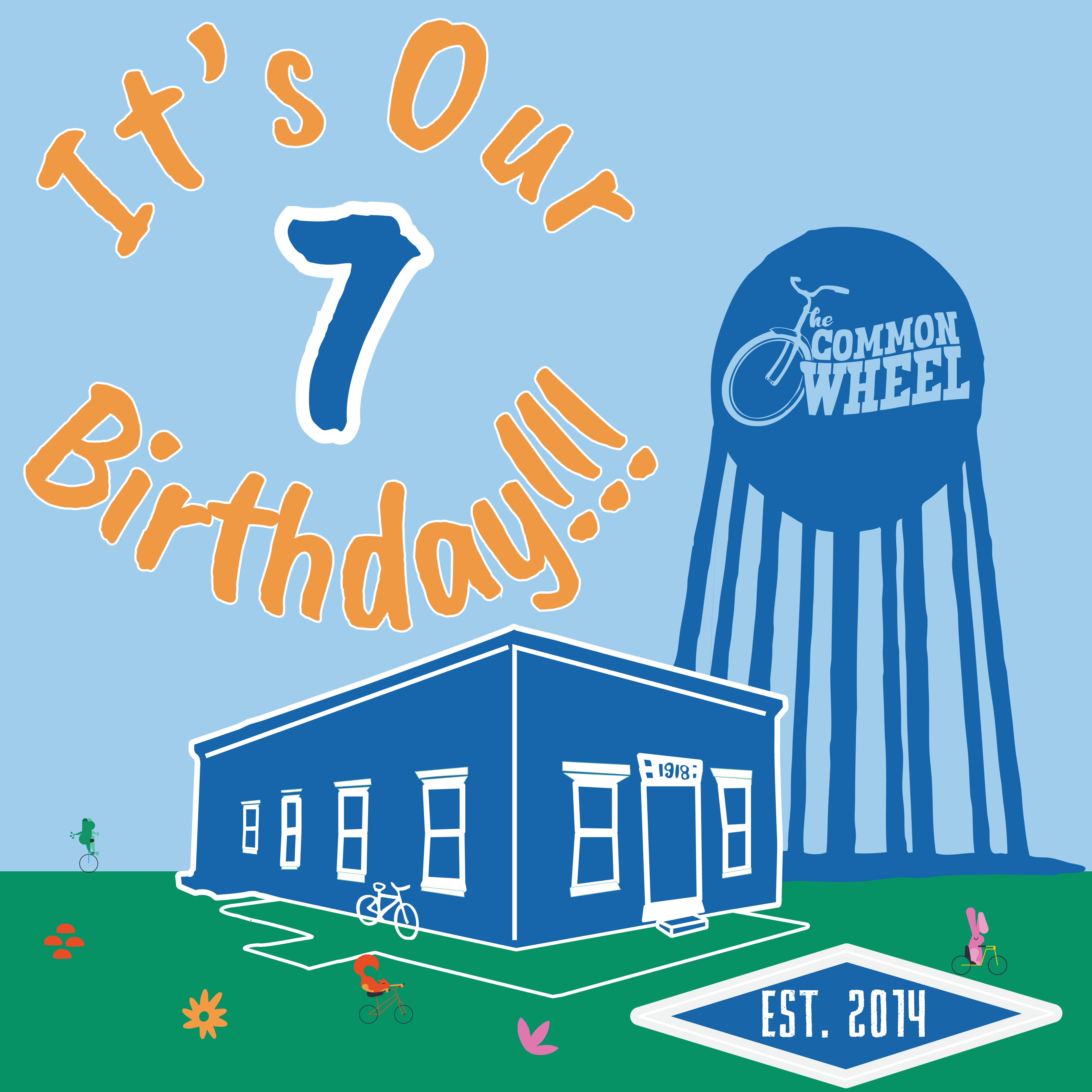 It's our 7th Birthday!